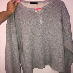 SOLD DO NOT BUY Brandy Melville cropped sweatshirt